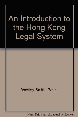 An Introduction to the Hong Kong Legal System
