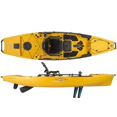 Hobie mirage pro angler 12 kayak 2016 olive fishing kayaks for Hobie fishing kayak