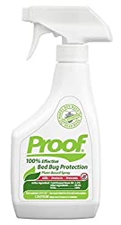 Proof Bed Bug Killer - Only EPA Approved Biodegradable Bed Bug Spray