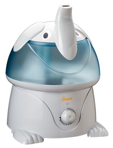 Crane Adorable 1 Gallon Ultrasonic Cool Mist Humidifier, Elephant