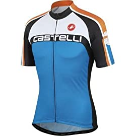Castelli 2013 Men's Velocissimo DS Full Zip Short Sleeve Cycling Jersey - A13016