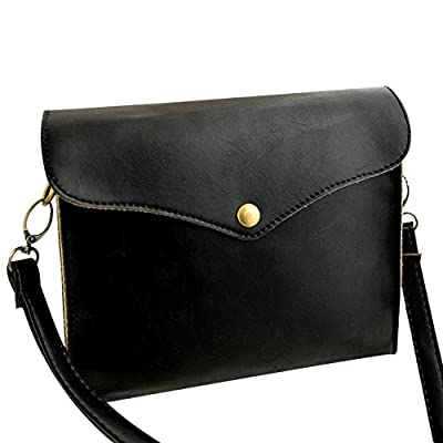 CHIC-CHIC Sac Bandoulière Femme Messager Cuir PU Sac à Main Vintage Mini Simple