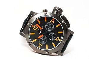 V6 Super Speed Military Black Quartz Watch #V610