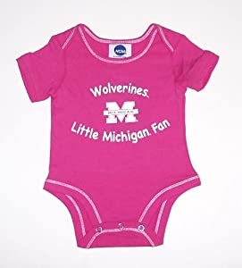 Amazon Michigan Wolverines Infant esie 0 3 Months