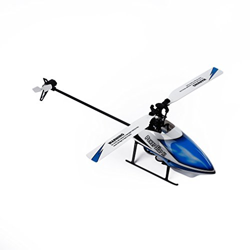 RC Helicopter, Advanced WLtoys V977 Remote Control Helicopters with 2.4 GHz 6 Channels 3-Axis & 6-Axis Gyroscope(Blue) (Advanced Remote Helicopter compare prices)