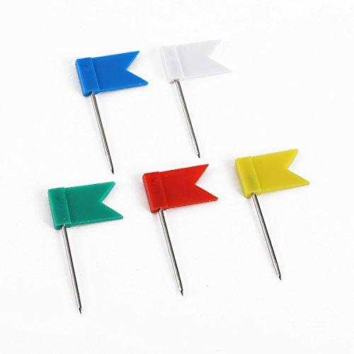 100-x-clou-avec-drapeau-marque-epingle-murale-mixte-blanc-bleu-rouge-jaune-vert