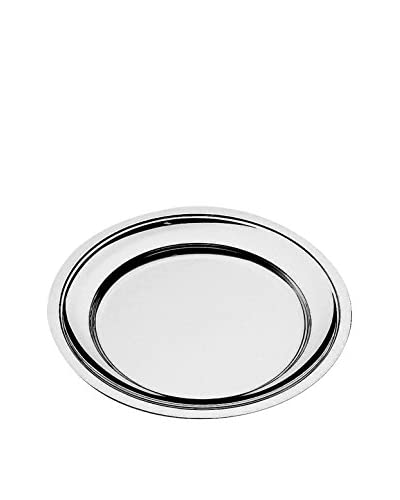 MEPRA Celestino Round Serving Plate, Stainless Steel
