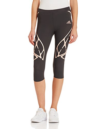 Adidas Adizero Sprintweb Three-Quarter Women's Tights - AW16 - Small - Black