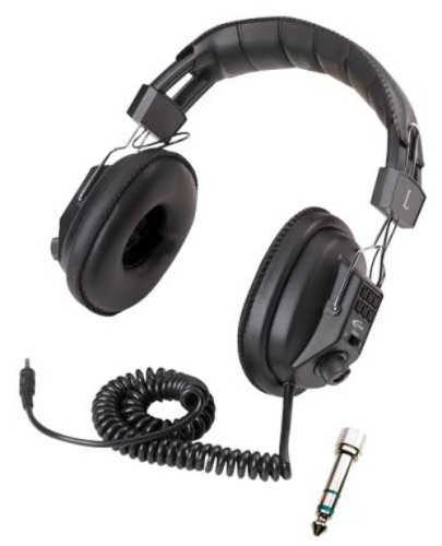 Califone Switchable Stereo and Mono Wired Headphones (3068AV)