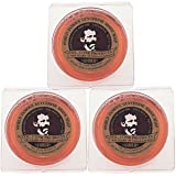 3-pack 2.25 Col. Conk Amber Shaving Soap
