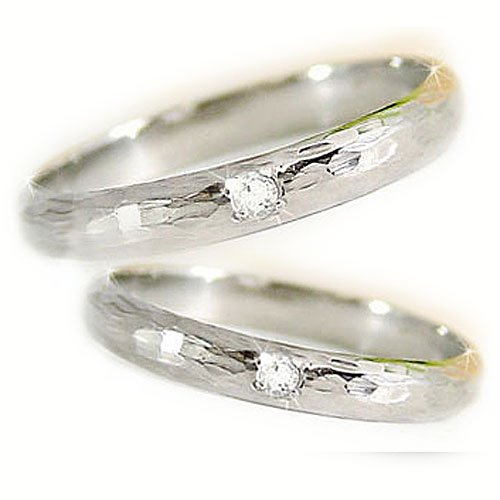Atrus【アトラス】ペアリング 結婚指輪 ダイヤモンド プラチナ900 指輪 PT900 ハンドメイド