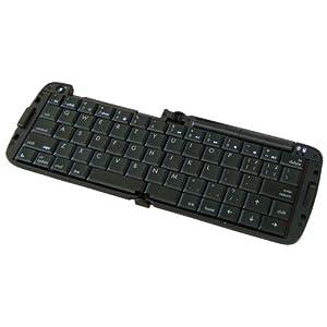 リュウド 折りたたみ式ワイヤレスキーボード iPhone5/iPad対応 iOS専用 ブラック RBK-3200BTi