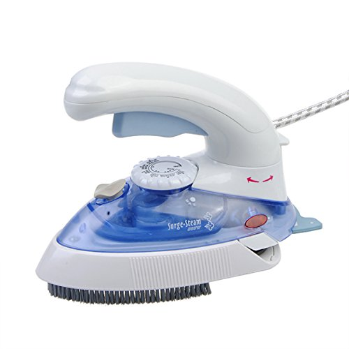 220V EU Plug Electric Steam Iron Steam Brush Adjustable Traveller Iron