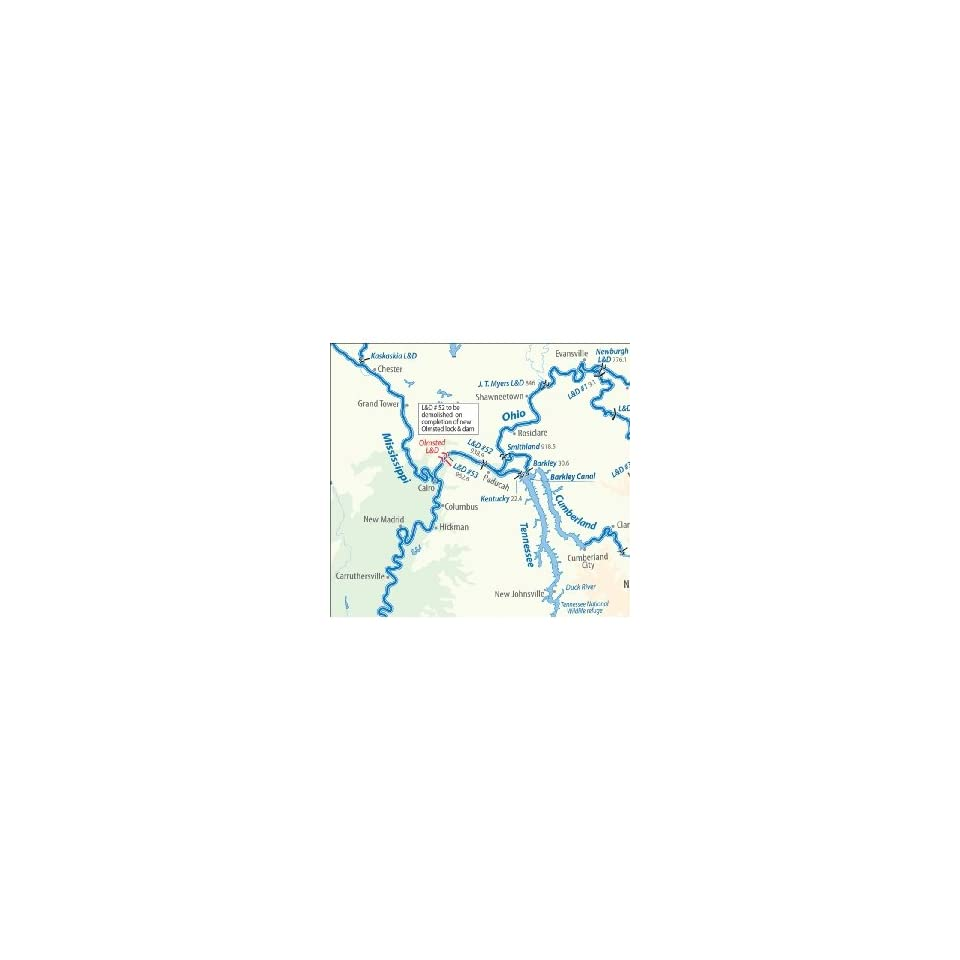 North American Inland Waterways Map & Index on PopScreen