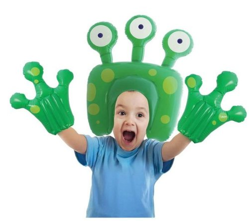 Bluw Inc Inflatable Alien Head And Hands