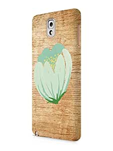 Cover Affair Wood / Flower Printed Back Cover Case for Samsung Galaxy Note 3