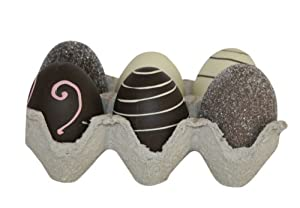 Faux Decorative Chocolate Easter Egg (Set of Six)