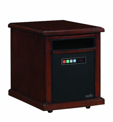 Duraflame Infared Quartz Electric Portable Heater Air Purifier Colby - Cherry