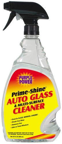 Purple Power (2117PS) Prime-Shine Auto Glass and Multi-Surface Cleaner - 32 oz. (Purple Power Glass Cleaner compare prices)