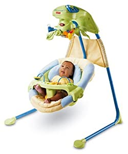 Mattel J6978 - Fisher-Price Baby Gear Kuschelnest Babyschaukel