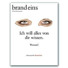 brand eins audio: Beobachten Hörbuch von  brand eins Gesprochen von: Michael Bideller, Nina Schürmann, Jennifer Harder-Böttcher
