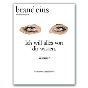 Title: brand eins audio: Beobachten Audiomagazin
