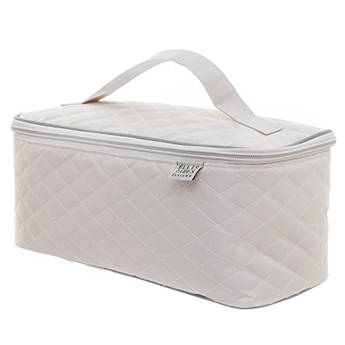 9952fa1cab106 ... Ellis James Designs Large Quilted Travel Cosmetic Case Makeup Bag  Organizer · Previous ·   Next