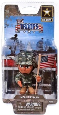 The Party Animal Lil' Troops Recon Scout Series 1