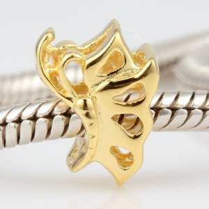 Everbling Golden Dancing Butterfly Authentic 925 Sterling Silver Bead Fits Pandora Chamilia Biagi Troll Charms Europen Style Bracelets