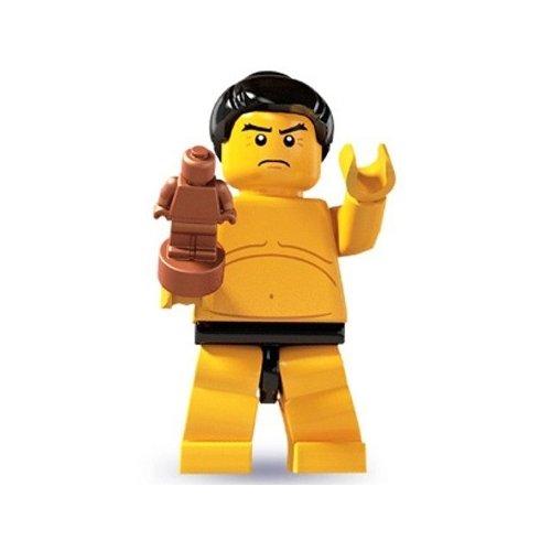 Lego: Minifigures Series 3 Sumo Wrestler Mini-Figure - 1