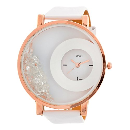 Horse Head KITCONE Analog Multi color Dial Movable Beads womens watches
