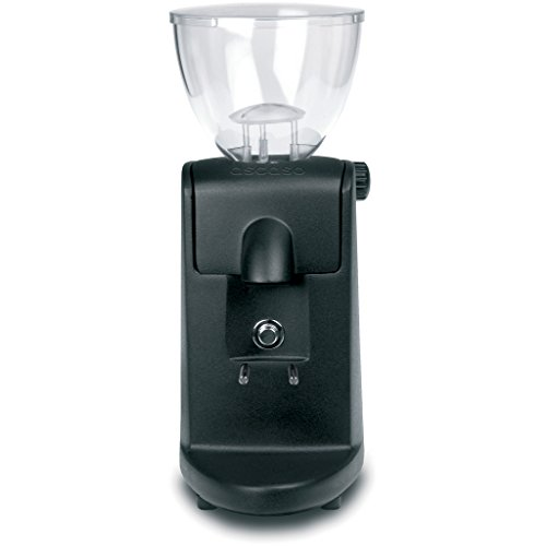 Ascaso I-Mini Espresso Grinder - Dark Black, Conical Burr, Doserless, Abs Plastic front-574377