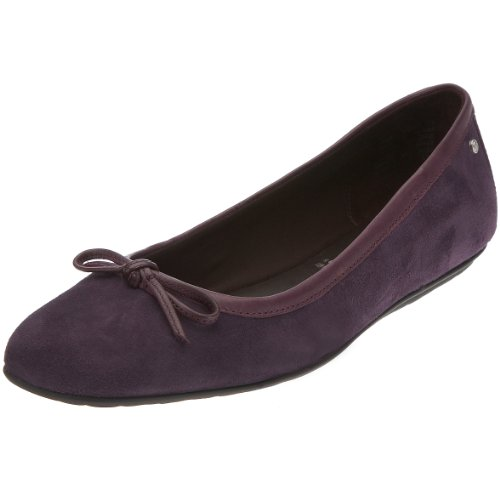 Rockport Amelia Ballerina Women's Ballet Pumps Eggplant (Kid Suede) K55090 5.5 UK