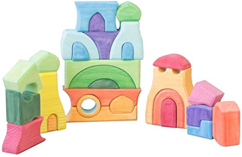the-domes-29-piece-unique-building-set-wooden-blocks-with-wooden-storage-tray-waldorf-toy