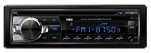 NAXA Electronics NCA-603 Full Detachable PLL Electronic Tuning Stereo AM/FM Radio, MP3/CD Player