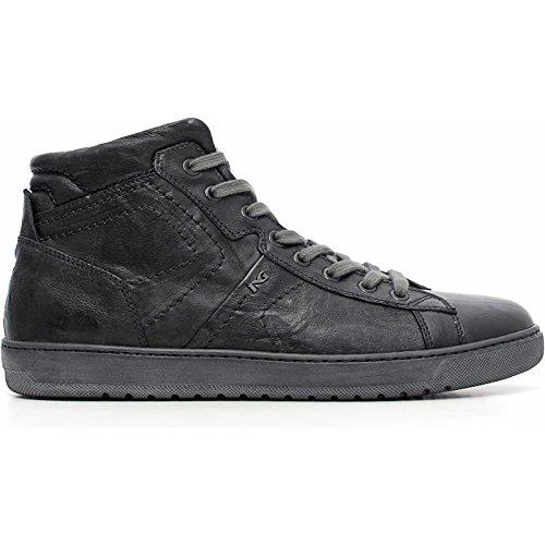 Sneaker Uomo Alta Nera A604360U-100 - Nero Giardini , 42