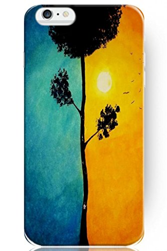 Sprawl Hot Fashion Design Ultra Slim Hard Cover For Apple Iphone 6 (5.5) -- Day And Night