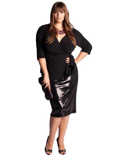 Buy IGIGI by Yuliya Raquel Plus Size Minnelli Sequins Skirt
