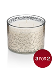 Frankincense & Myrrh Scented Large Filled Candle