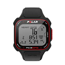 Polar RC3 GPS with Heart Rate Monitor, Black
