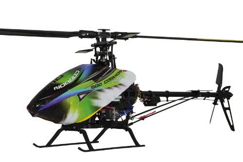 Elicottero 500 : Jamara elicottero radiocomandato e rix carbon