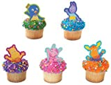 Backyardigans Party Cake Topper Cupcake Decoration Supplies x12