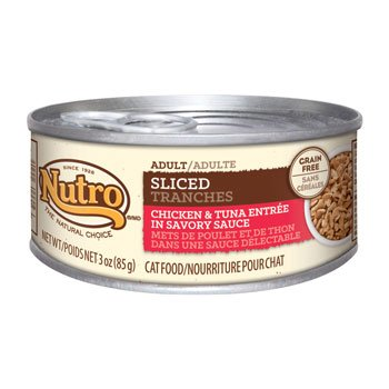 Nutro Adult Cat Food Sliced Chicken & Tuna Recipe