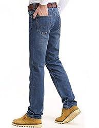 Demon&Hunter III Series Men's Regular Straight Leg Jeans 8004(30)