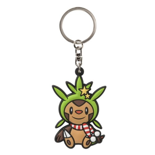 Pokemon Center Chespin/Harimaron PokaPoka Yukiasobi Key Chains