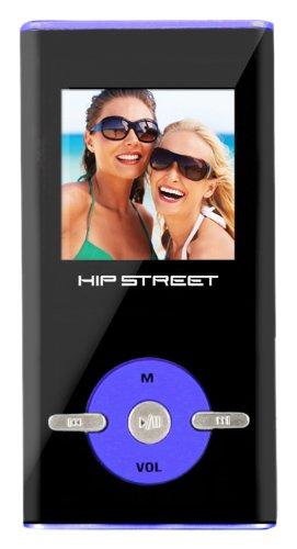 Hip Street HS-T29-2GBBL 2 GB MP3 Video Player (Blue)