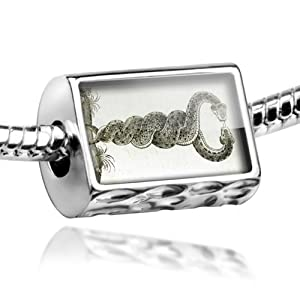 "Neonblond Beads ""Snakes, Medical"" - Fits Pandora Charm Bracelet by NEONBLOND Jewelry & Accessories"