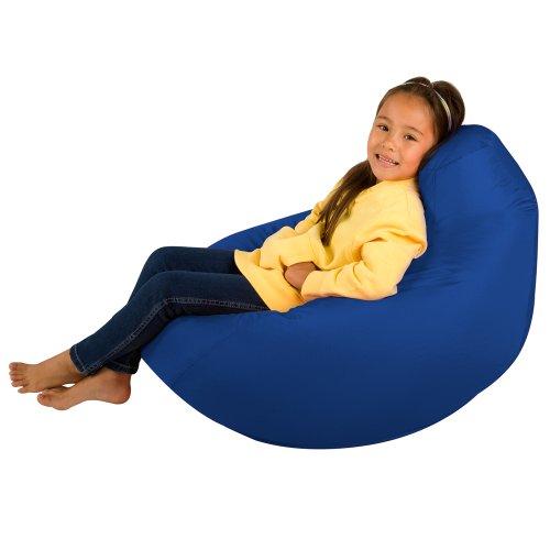 Kids Hi-BagZ® - Kids Bean Bag Gaming Chair - Childrens Beanbag (Water Resistant) BLUE