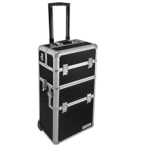 anndora-Aluminium-Koffer-2-Rad-Trolley-60-L-Pilotenkoffer-Beauty-Case-Schwarz