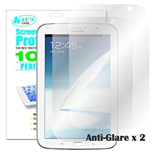 KaysCase Screen Protector Film for Samsung Galaxy Note 8.0 Tablet (Anti-Glare)